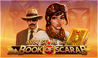 G1 - Ruby Stone and the Book of Scarab Dice Slot